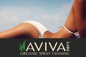 Aviva Labs organic spray tanning
