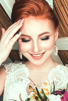 wedding hair and make-up services